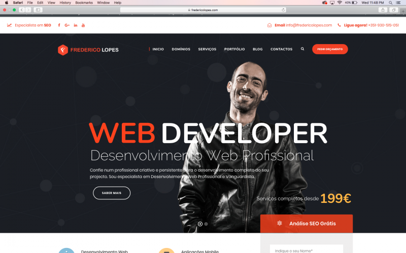 Freelancer WordPress em Portugal