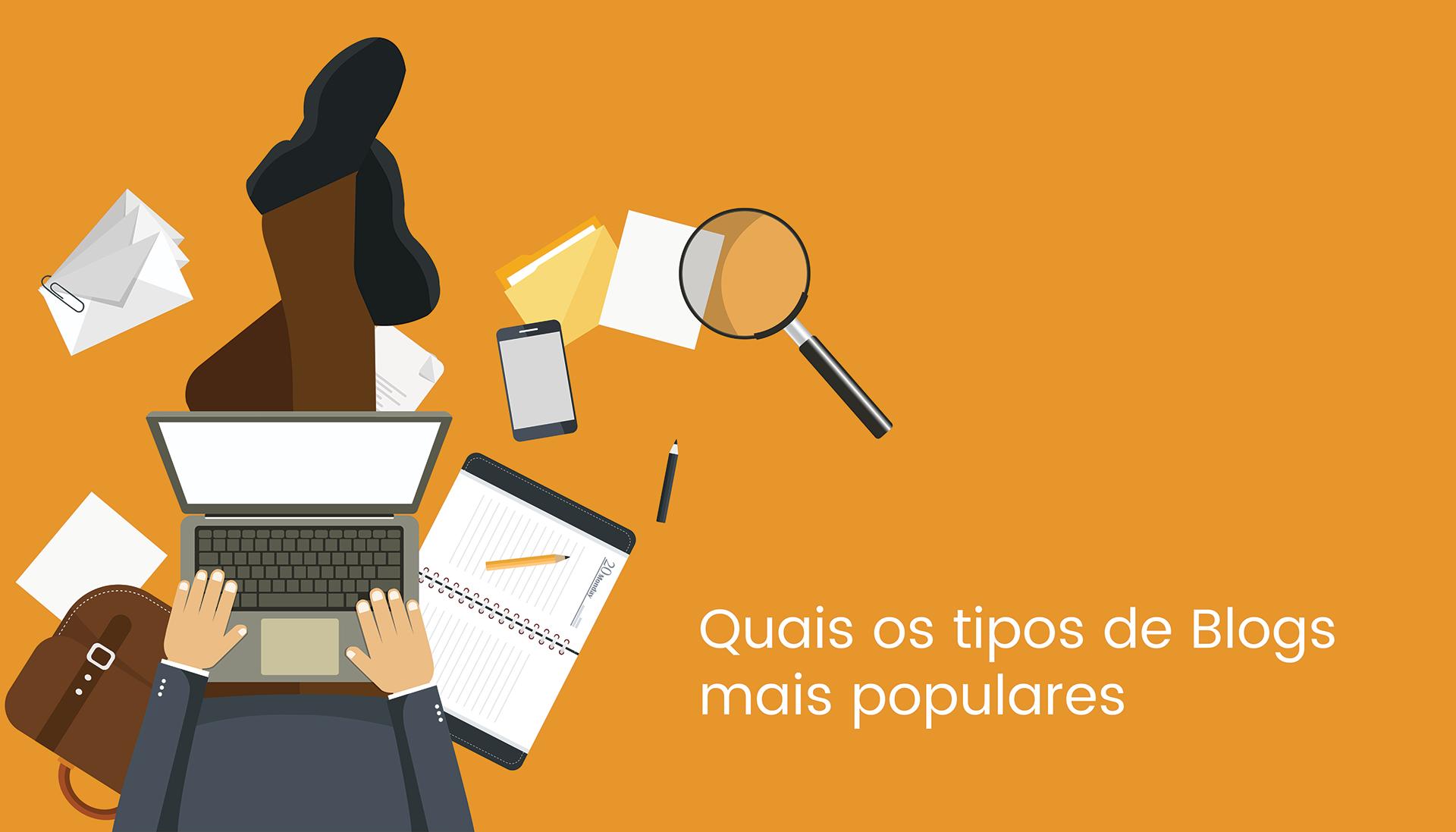 Quais são os tipos de blogs mais populares ?
