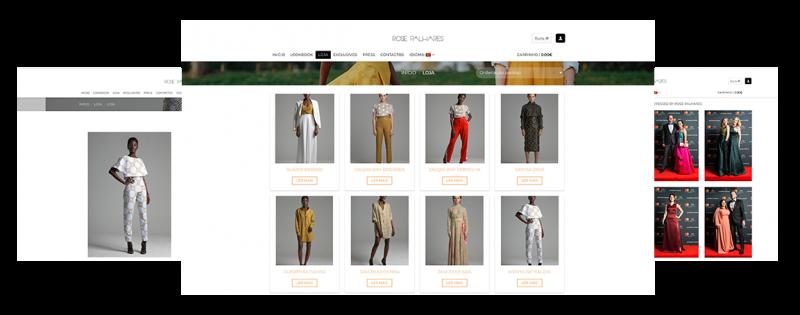 5bdc5aa58 Criação de loja online para uma marca de roupa feminina que carregada por  um espírito jovem