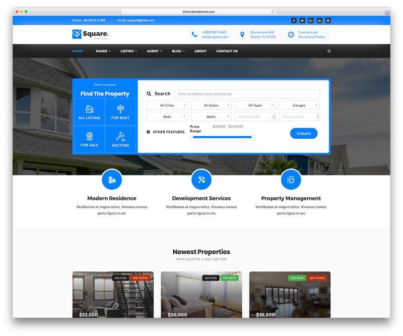 criação de sites para imobiliarias