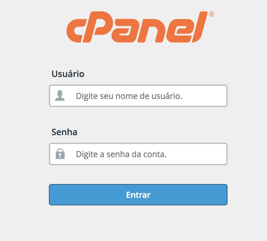 Criar conta de email profissional - cPanel