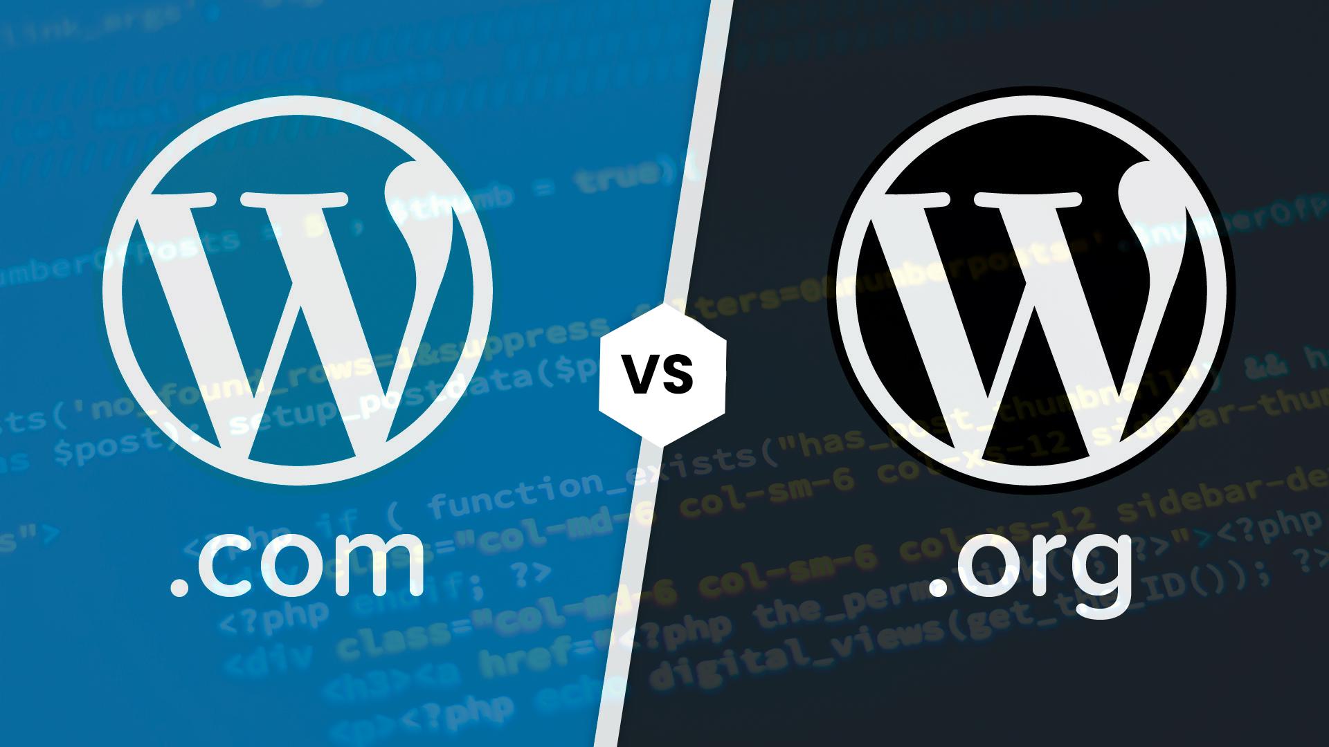 Conheça todas as diferenças entre WordPress.org e WordPress.com