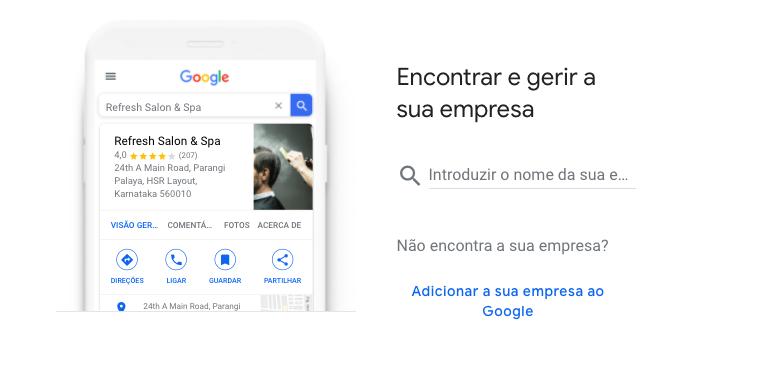 Criar uma Conta Google My Business